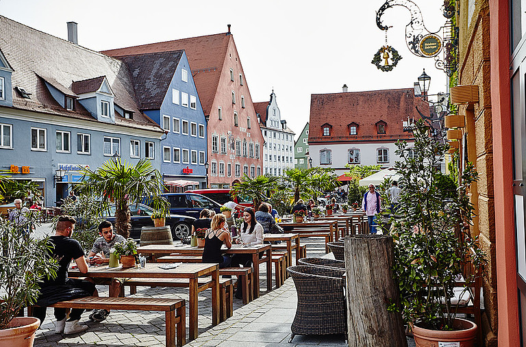 The old town of Memmingen has a lot of things to offer