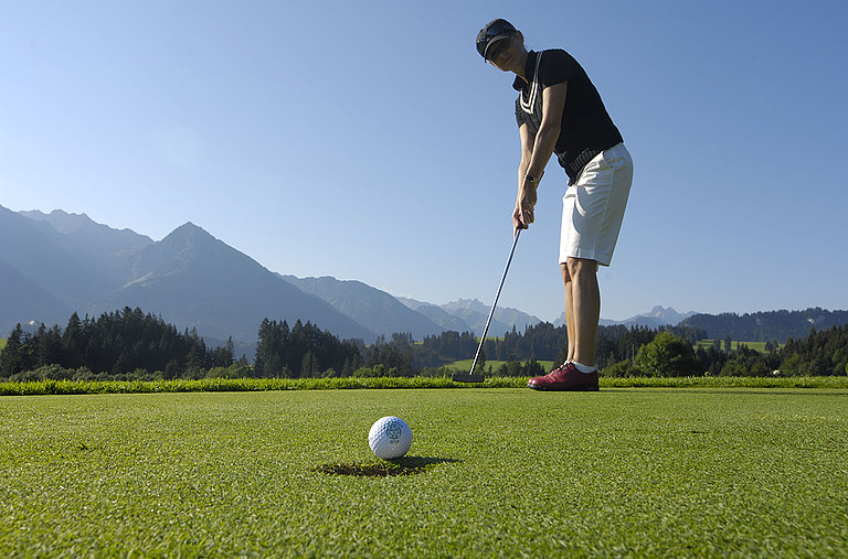 Relax on the golf course © Urlaubsregion Allgäu