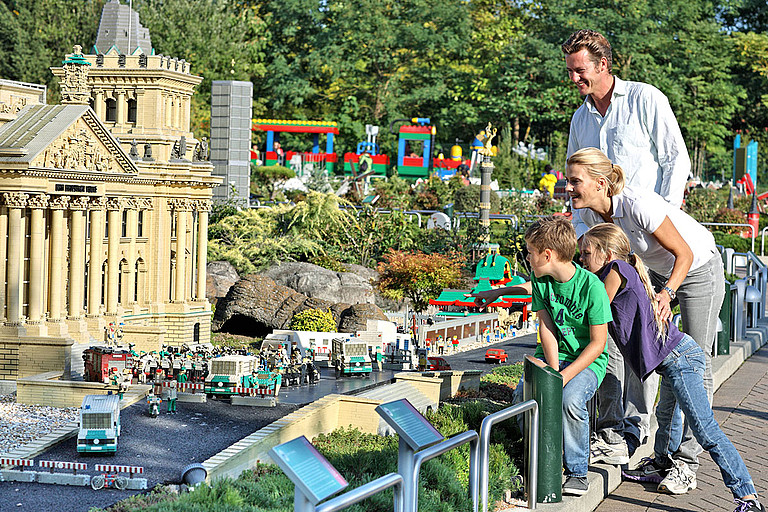 The Legoland in Bavaria is an aventure for the whole family © LEGOLAND Deutschland Resort