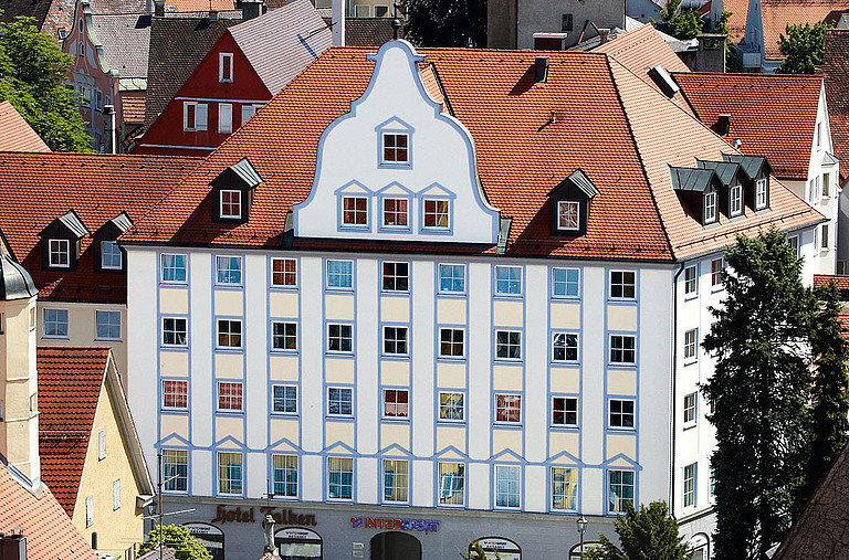 Chic Hotel in the old town of Memmingen